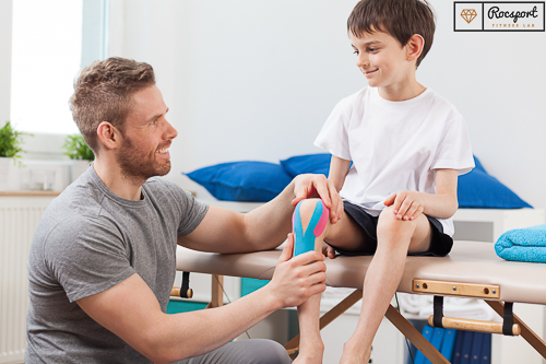 Incredible Kinesiology Tape Back Child