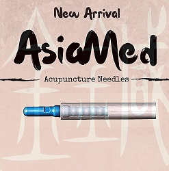 AsiaMed J-Type Acupuncture Needles