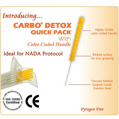 Carbo Detox Acupuncture Needles