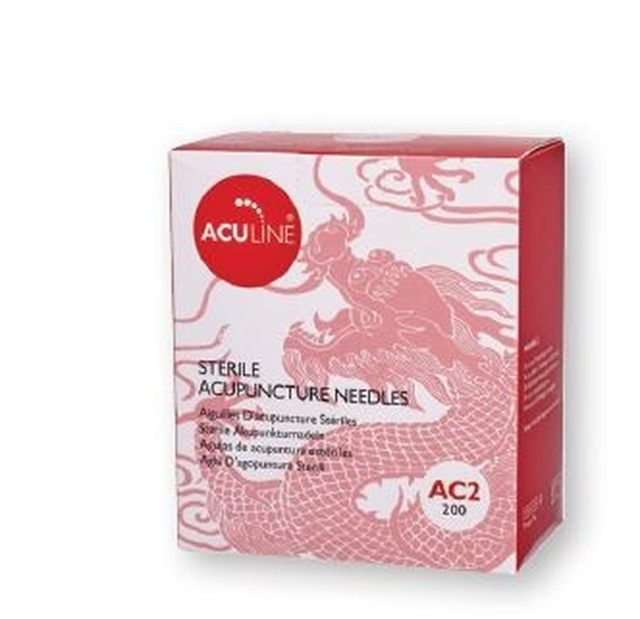 Aculine Copper Handle Acupuncture Needles