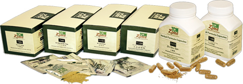 TCM Zone Granule Formulas - Packet Box