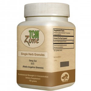 TCM Zone Single Herb Granules - 100g Bottles