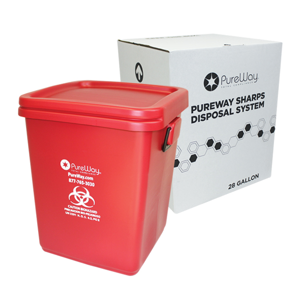 28 Gallon Mail Away System (No Loose Sharps)