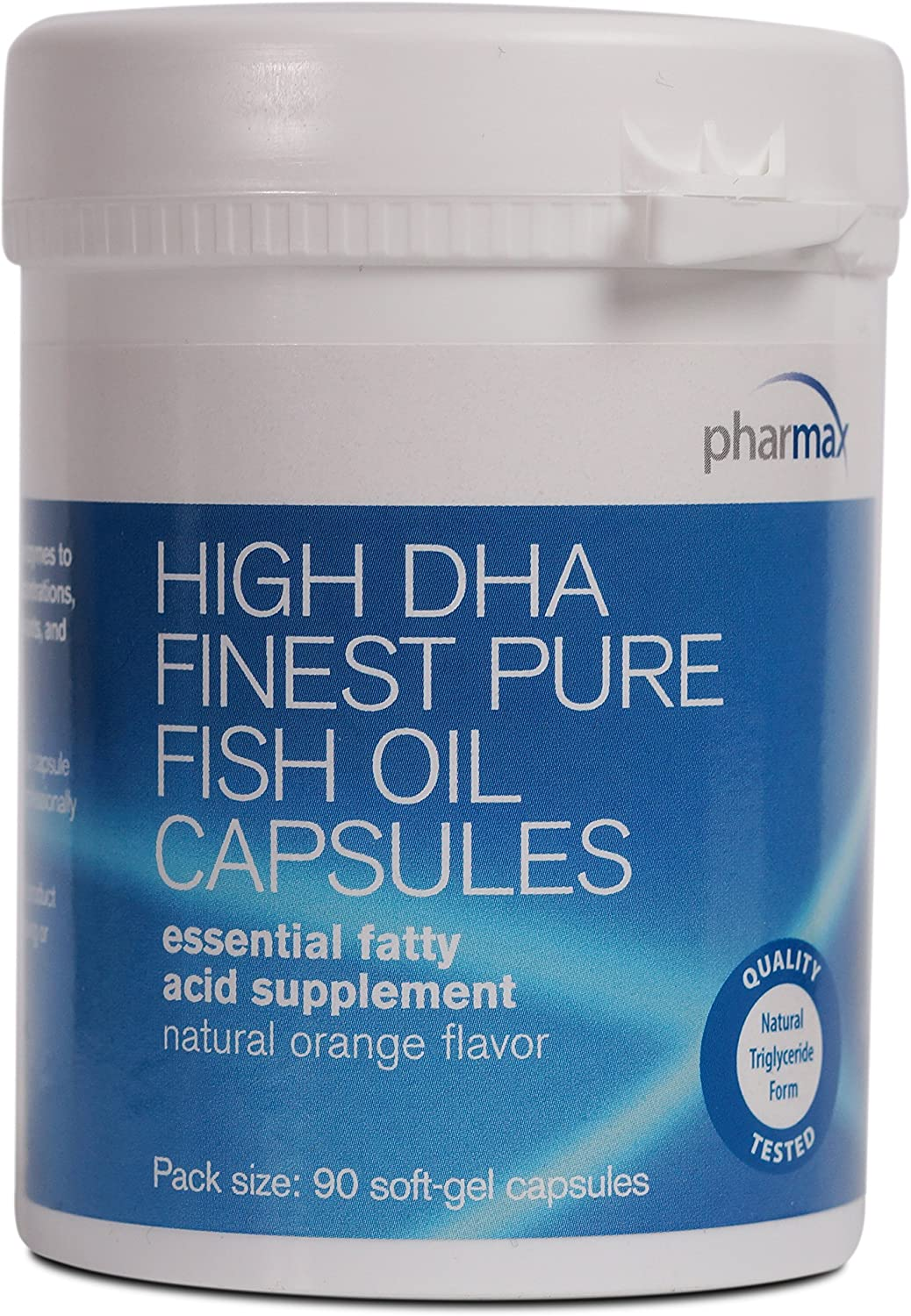 High DHA Finest Pure Fish Oil Caps (expires 3-31-2021)