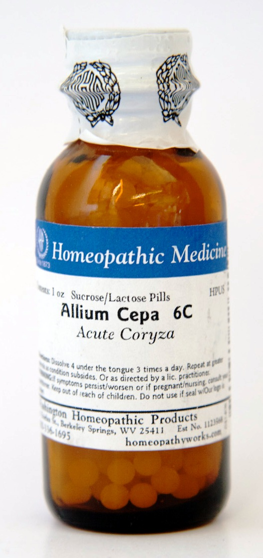 Allium Cepa, 6c, 1oz Pills