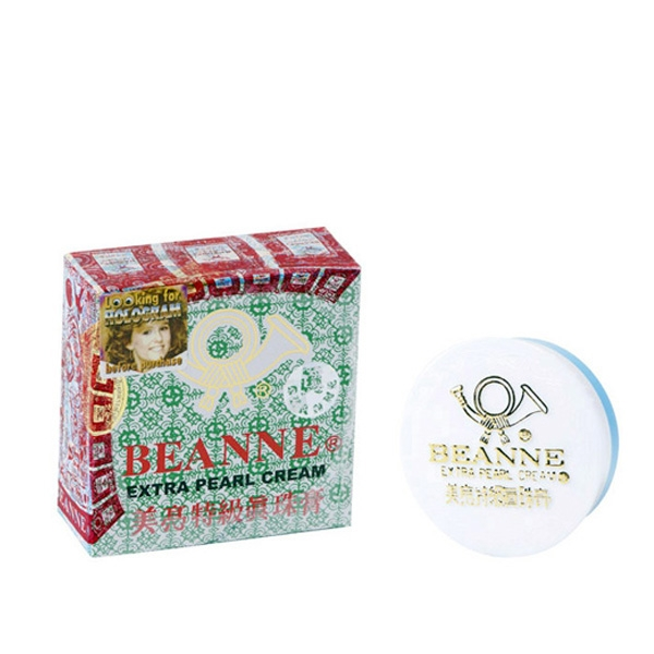 Beanne Extra Pearl Cream, Green (for acne)