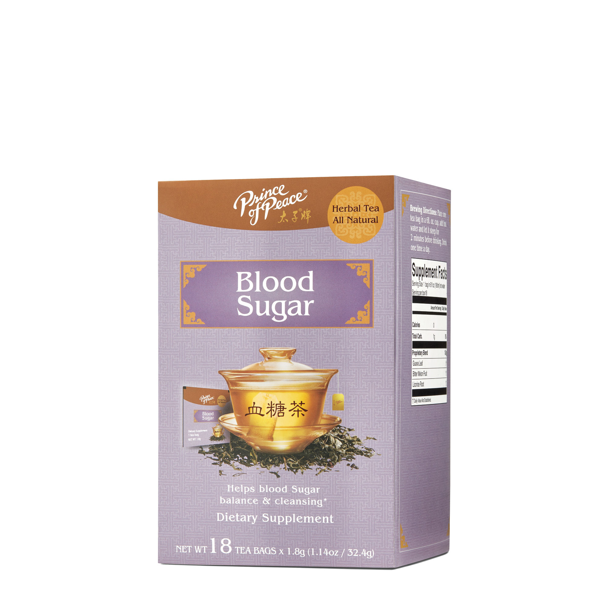 Blood Sugar Tea, 18 Bags