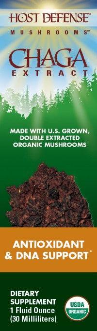 Chaga Extract - 1 Fluid Oz.