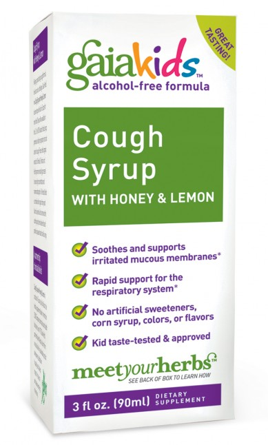 Cough Syrup with Honey and Lemon