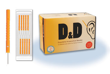 .22x13mm - D&D - Drug Detox Acupuncture Needles