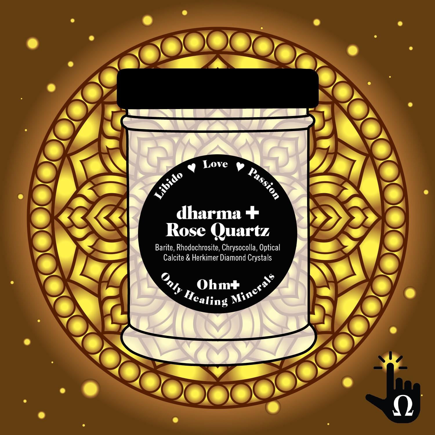 Dharma + Rose Quart, Topical Mineral