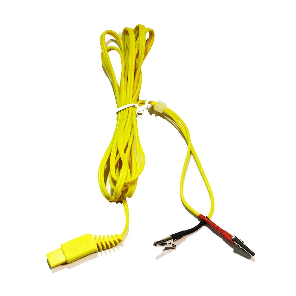 Small Alligator Clip / Wire with Rectangle Plug