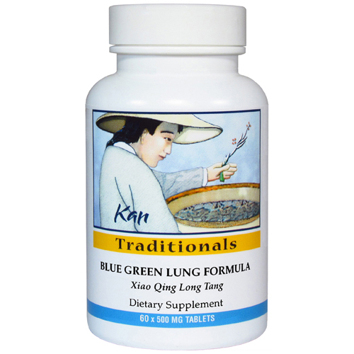 Blue Green Lung Formula, 60 tabs