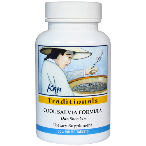 Cool Salvia Formula, 60 tablets