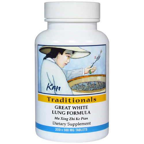 Great White Lung Formula, 300 tabs (EXPIRES 07-2021)