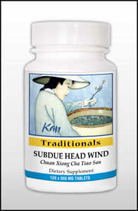 Subdue Head Wind, 120 tablets