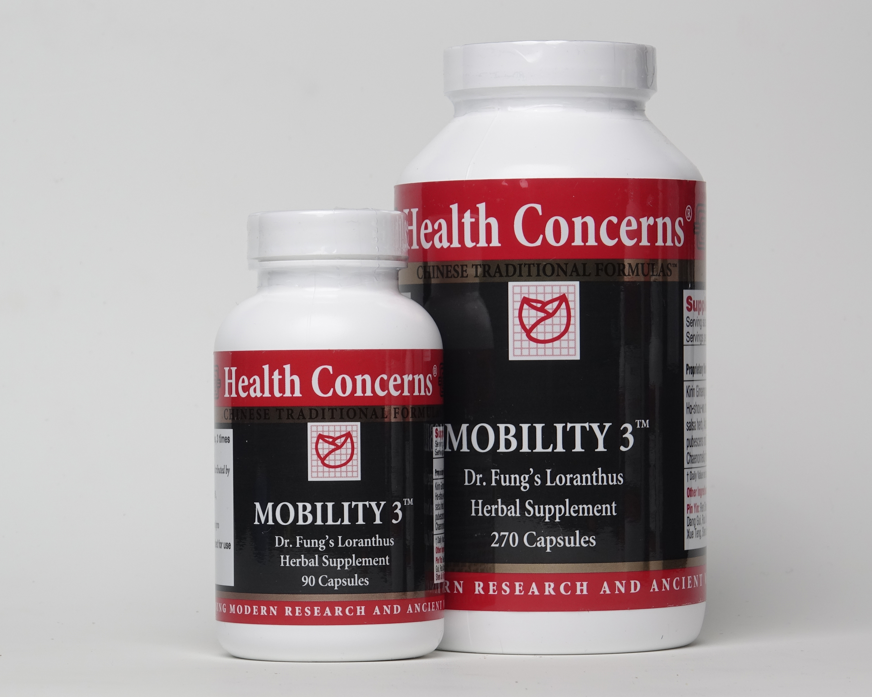 Mobility 3 (Dr. Fung's Loranthus Herbal Supplement), 270 caps