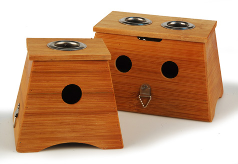 Bamboo Moxa Box - 2 Hole