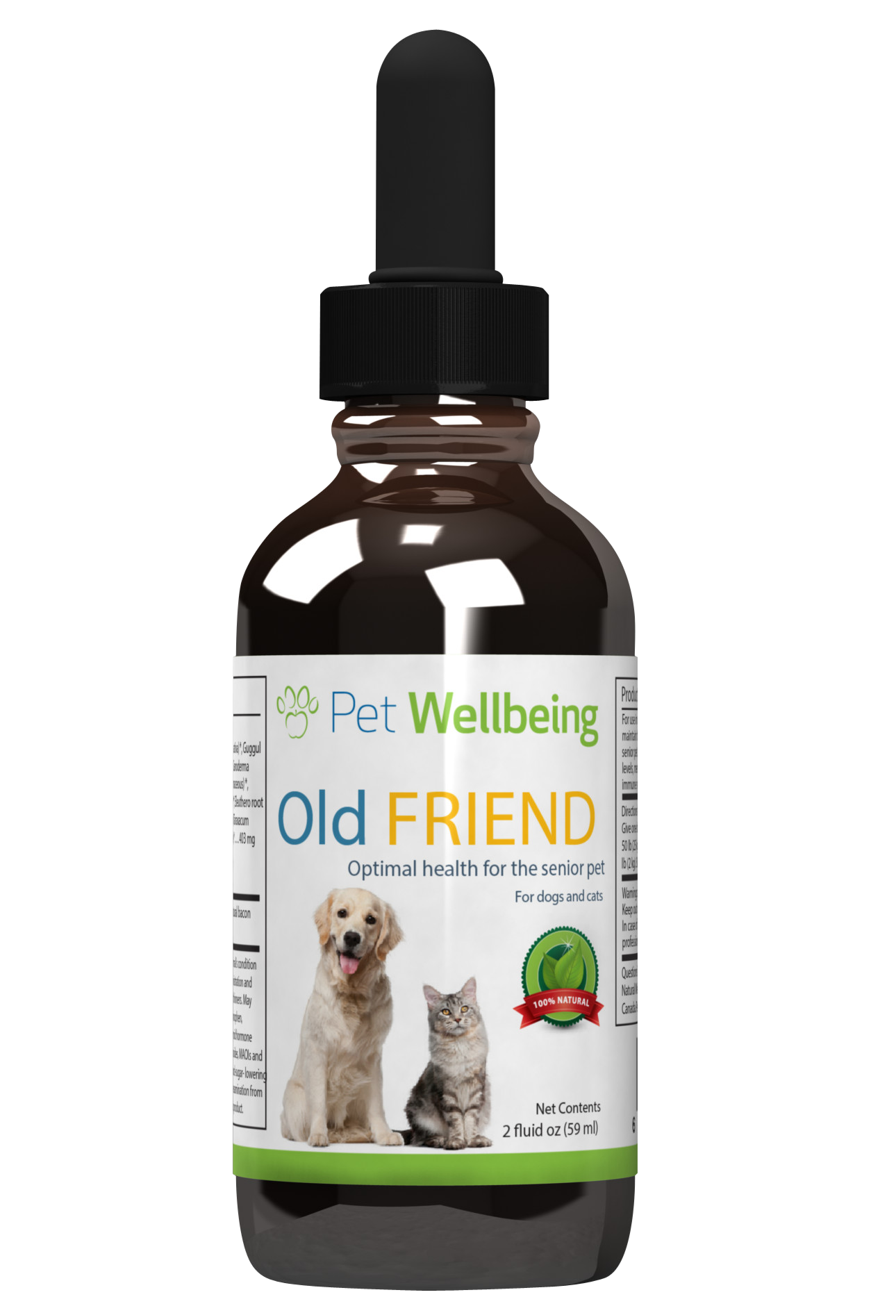 Old Friend for Senior Dogs, 2oz