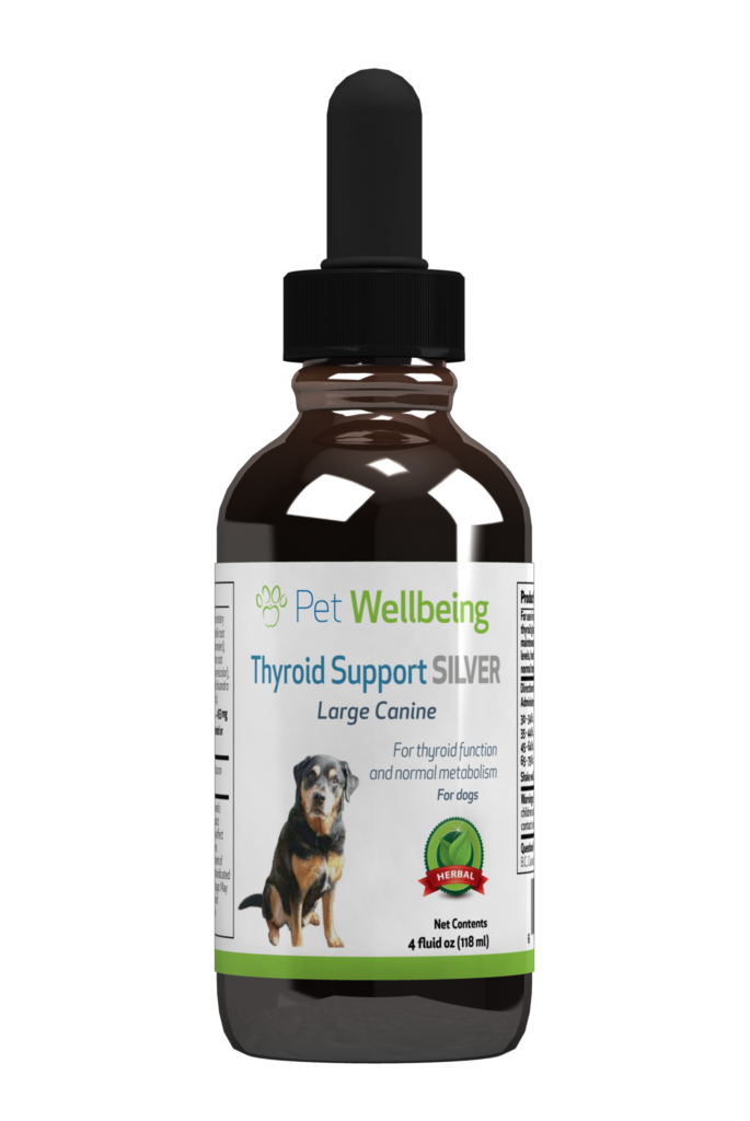 Thyroid Support Silver, 4oz, for Dogs