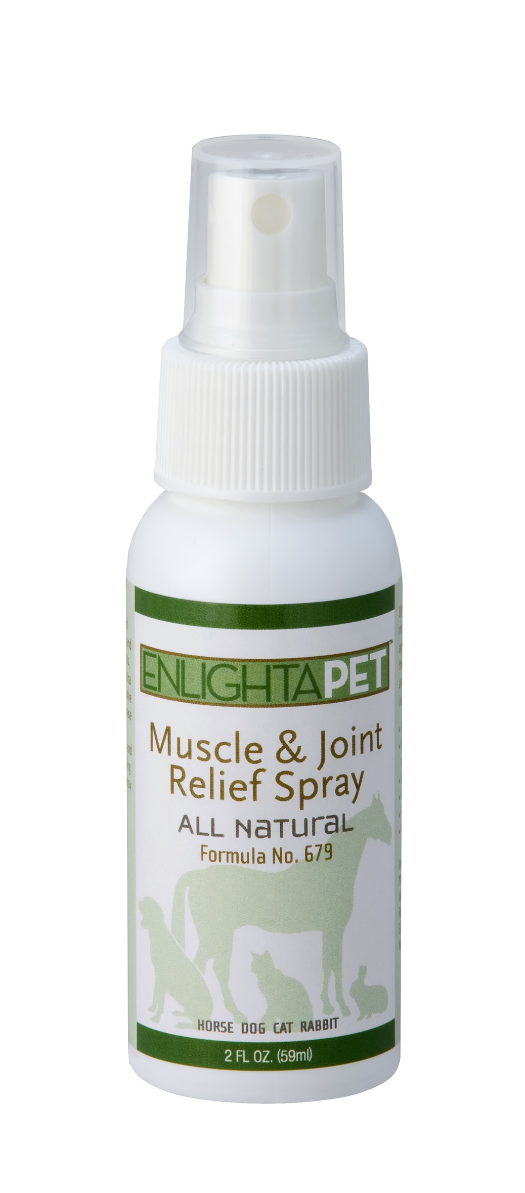 EnlightaPet Muscle & Joint Relief Spray, 2 oz