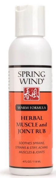 Herbal Muscle and Joint Rub, Warm
