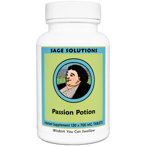 Passion Potion (Aging Solution), 120 tabs.