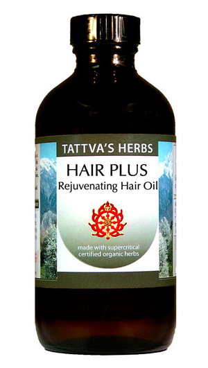 Hair Plus Oil - Organic, 4oz