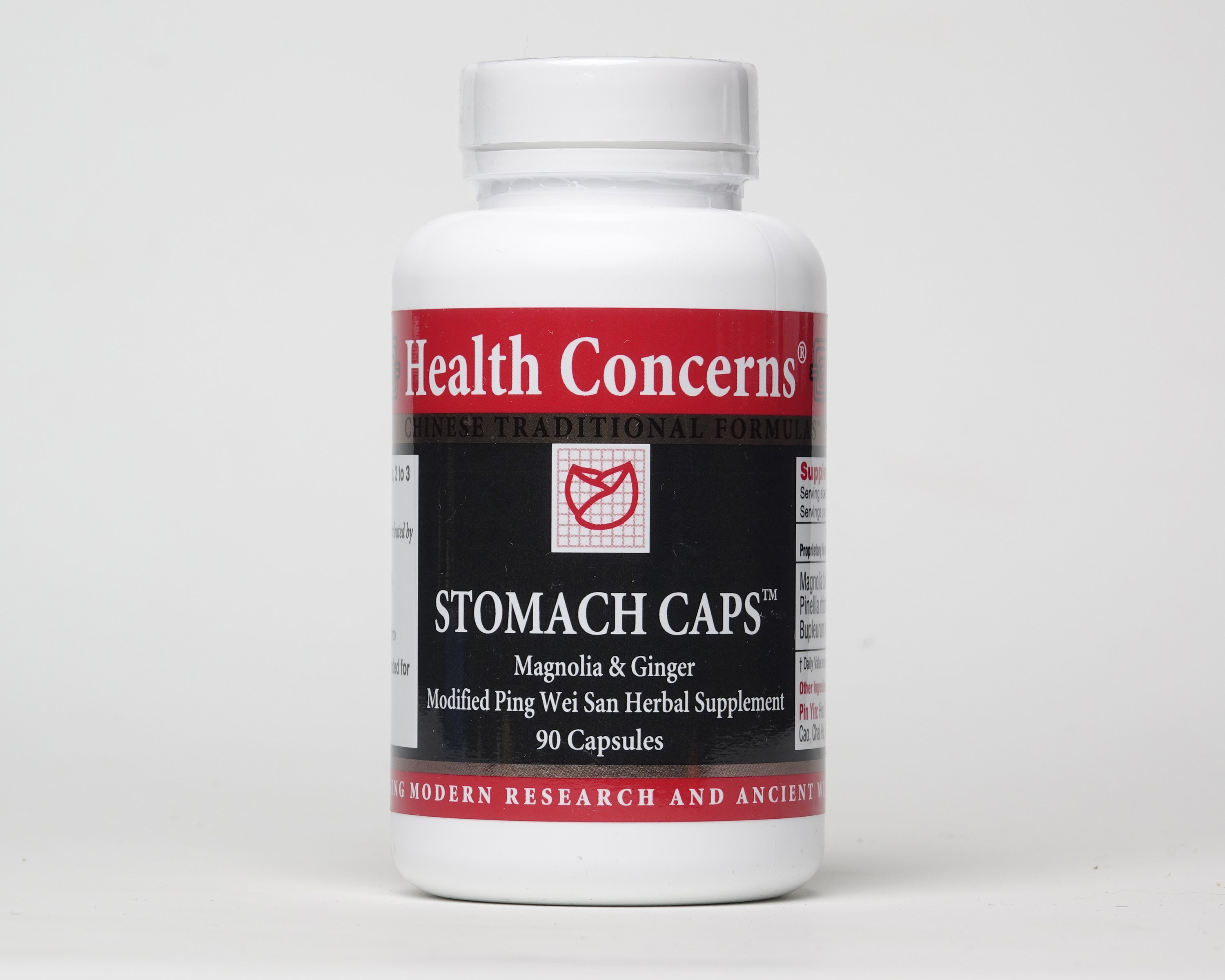 Stomach Caps (Magnolia & Ginger Herbal Supplement)
