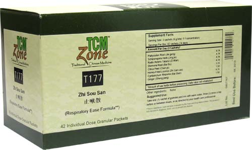Zhi Sou San Granules, Box of 42 packets (2g per packet)