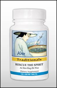 Rescue the Spirit, 120 Tablets