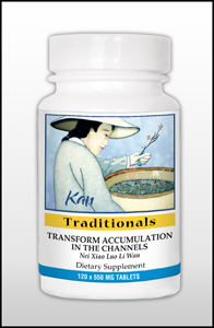 Transform Accumulation in the Channels, 120 Tablets