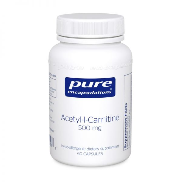 Acetyl-l-Carnitine, 500 mg (60 capsules)