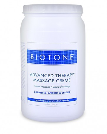 Advanced Therapy Massage Creme,  1/2 Gal