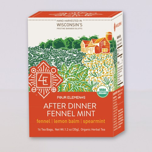 After Dinner Fennel Mint Tea, 16 bags