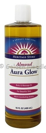 Aura Glow - Almond Scented, 16oz (Expires 2/20)