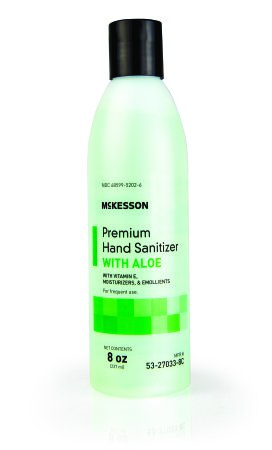 Hand Sanitizer w Aloe, 8oz