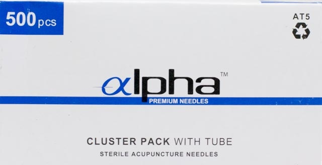 .22x40mm - Alpha Cluster Acupuncture Needle