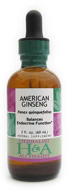 American Ginseng Extract, 4 oz.