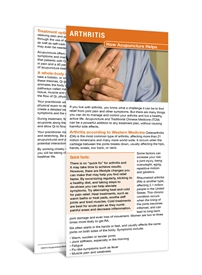 Arthritis Education Cards
