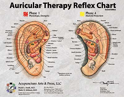 Auricular Therapy Reference Card