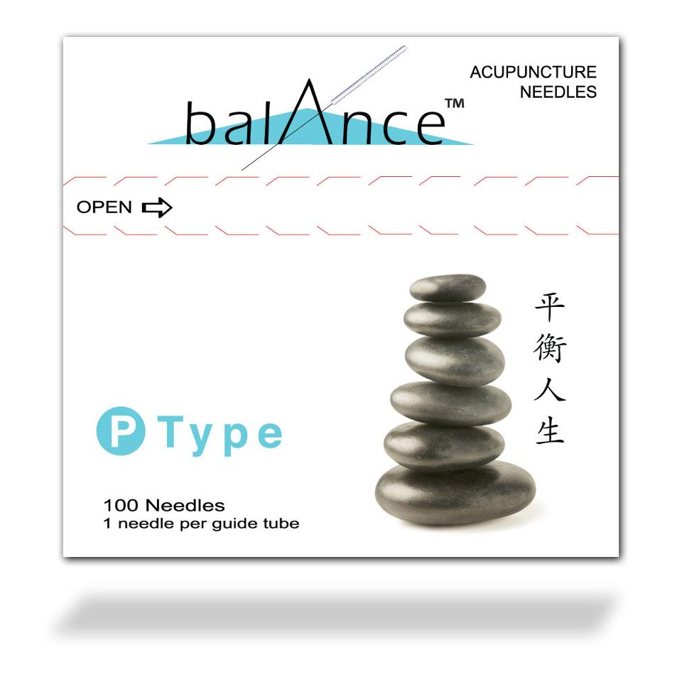 .12x40mm - Balance P-Type Acupuncture Needle