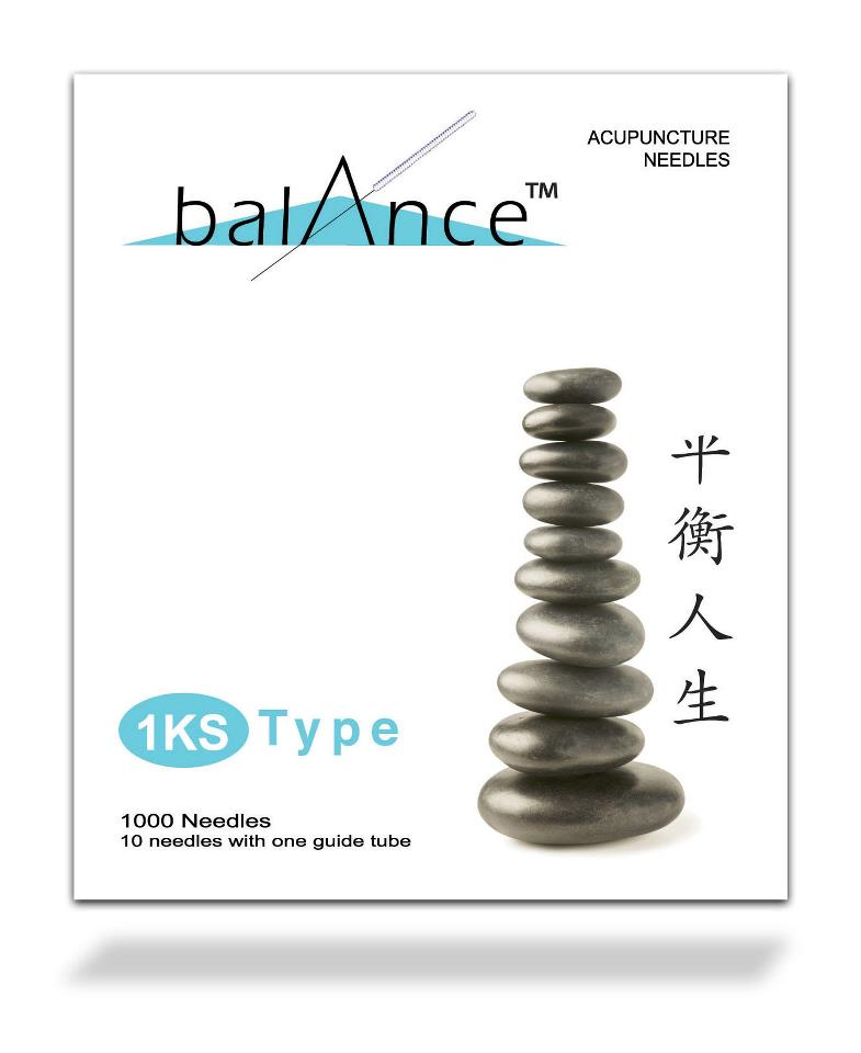 .20x40mm - Balance 1KS-Type Acupuncture Needle