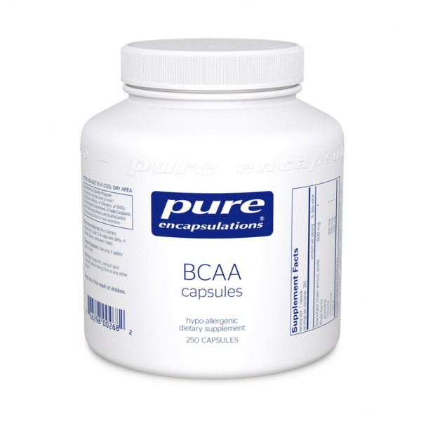 BCAA (branched chain amino acids), 90 caps