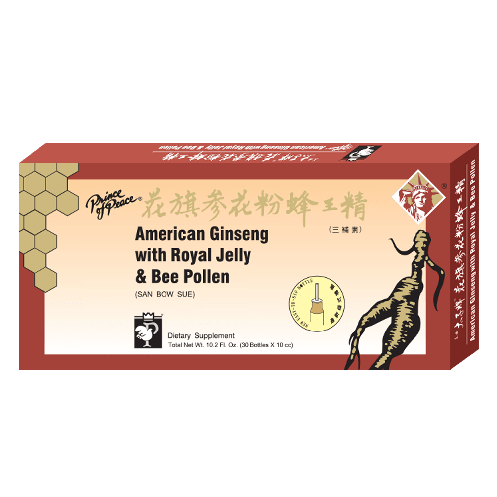 American Ginseng Extractum w/ Royal Jelly & Bee Pollen (10 x 10cc)