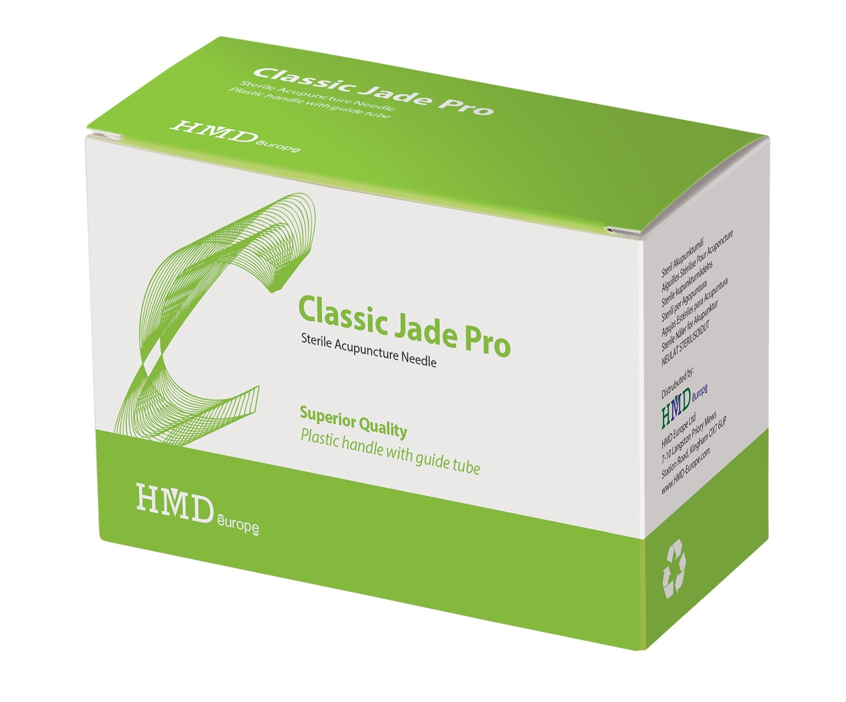 .14x30mm Classic Jade Pro Acupuncture Needle
