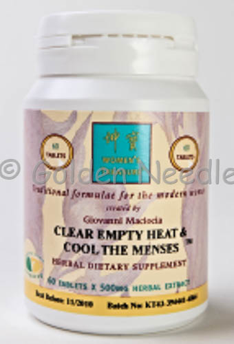 Clear Empty-Heat & Cool The Menses (Expires 12/19)