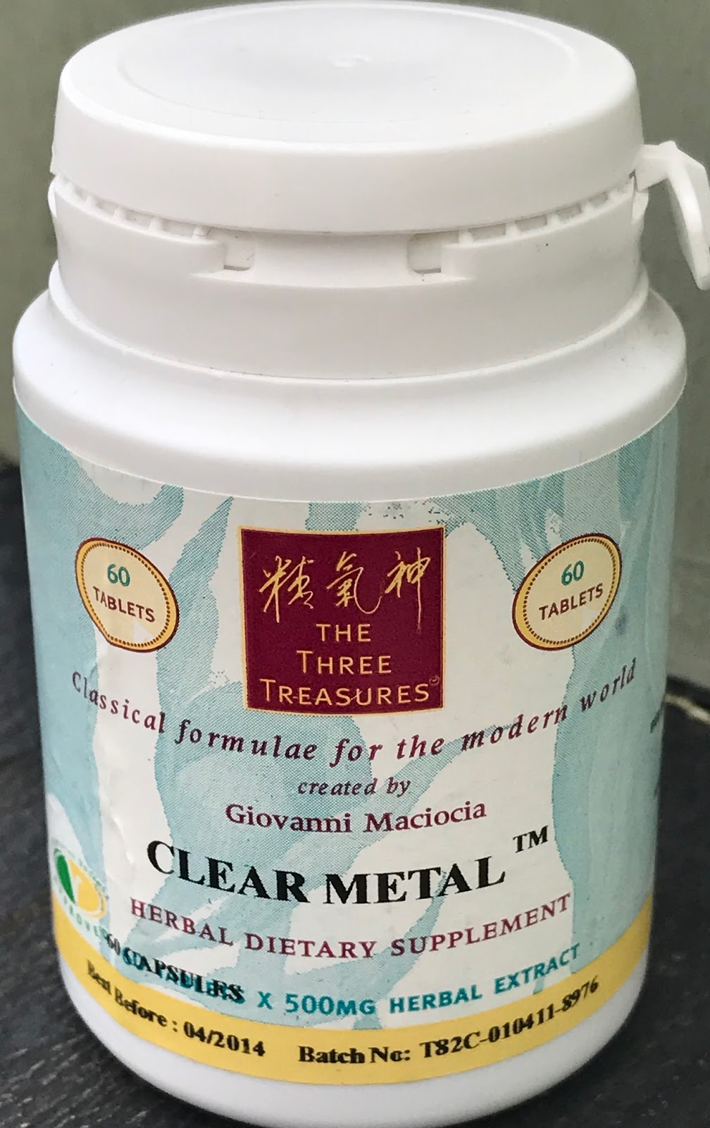 Clear Metal (Expires 12/19)