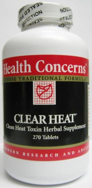 Clear Heat (Clear Heat Clean Toxin Herbal Supplement), 270 tabs