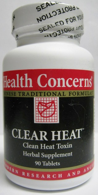 Clear Heat (Clear Heat Clean Toxin Herbal Supplement), 90 tabs